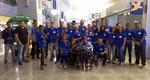 Delegação do Tocantins no aeroporto de Palmas rumo a São Paulo