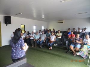 O encontro ocorreu nos dias 17 e 18, no auditório da Câmara Municipal de Ponte Alta do Tocantins