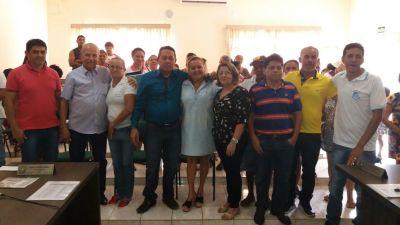 Superintendente da habitação, Jorge Mendes, esteve  em Nazaré no reinicio do MCMV