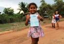 Crianças participam de caminhada ecológica realizada na última edição em Sampaio