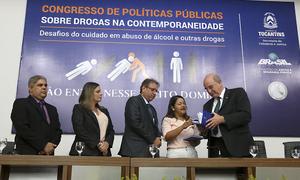 Relatório final foi apresentado aos mais de 500 inscritos do Congresso no auditório da Escola Superior de Magistratura do Tocantins