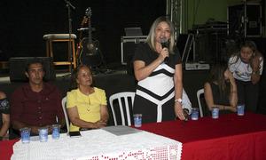 A superintendente de Desenvolvimento da Cultura do Estado, Noraney de Castro, enfatizou a importância do Encontro como espaço de diálogo acerca da cultura