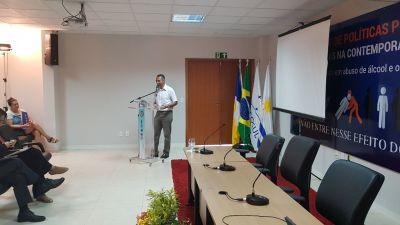 O subsecretário participou das atividades do Congresso e frisou a importância do evento para o Tocantins.