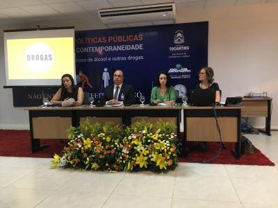 Mesa sobre judicialização e internações compulsórias na tarde desta sexta, 24.