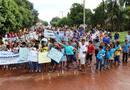 Caminhada ecológica percorreu ruas e avenidas de Sucupira nessa sexta-feira