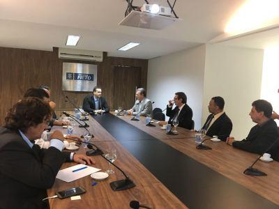 Encontro reuniu os membros do Comitê Gestor Estadual do Plano Nacional da Cultura Exportadora (PNCE).