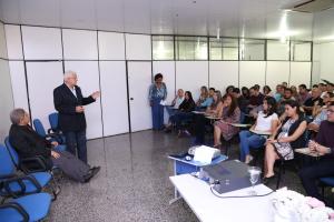 Superintendente do Procon-TO Nelito Vieiria Cavalcante durante seu pronuncimaneto - foto - Ademir dos  Anjos.JPG