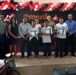 Estudantes de Dueré recebem certificados do Proerd