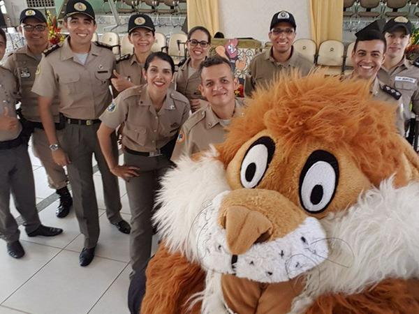 Instrutores do Proerd em Formoso do Araguaia