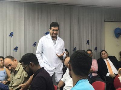 Urologista destaca importância da prevenção no Novembro Azul da PGE