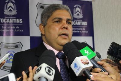 Secretário reforçou o compromisso do governador Marcelo Miranda com o Sistema Penitenciário do Tocantins.