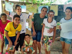 Área de Proteção Ambiental Serra de Lajeado promoveu a oficina pedagógica de contação de histórias