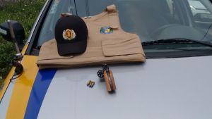 Arma apreendida em Itaporã