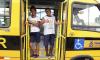 Os ônibus foram entregues durante ações do Governo do Estado no Sudeste tocantinense