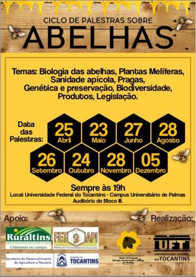convite abelhas
