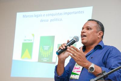 Presidente do Consea TO, Daniel Barbosa falou sobre a realidade da política de SAN no Tocantins