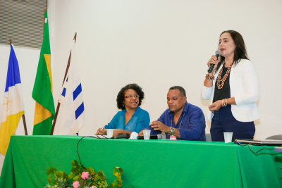 Secretária Patrícia do Amaral reforçou a importância do combate a fome
