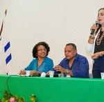 Secretária Patrícia do Amaral reforçou a importância do combate à fome