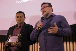 Dois técnicos do Naturatins, representaram o órgão no evento do Arpa