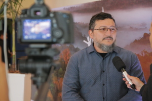Em entrevista, o gestor público da Astec e ponto focal do Arpa, Gino Oliveira