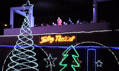 O Governo realiza a partir desta quinta-feira, 7, o acendimento oficial das luzes de Natal do Palácio Araguaia, em Palmas
