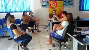 Reunião com os vereadores do município de Silvanópolis