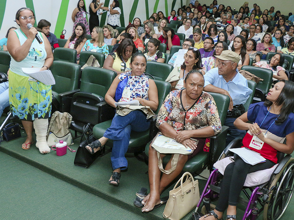 A 11ª Conferência Nacional de Assistência Social ocorre, de 5 a 8, em Brasília (DF)