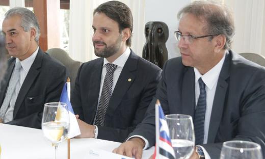 Marcelo Miranda enalteceu a escolha do novo presidente e afirmou que ele terá todo o apoio dos integrantes do Brasil Central