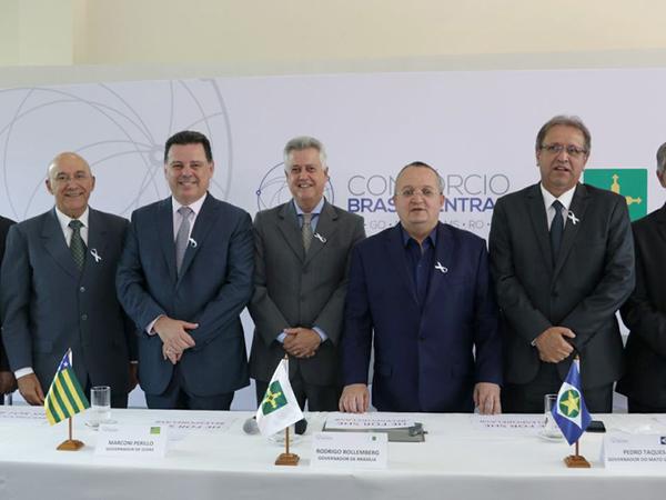 O Consórcio Brasil Central (BrC) fecha 2017 com a última reunião do ano, realizada na manhã desta quarta-feira, 6, no Palácio Buriti, em Brasília
