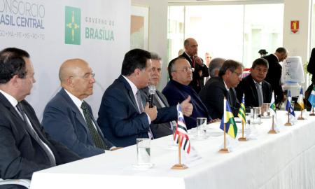 O governador de Goiás, Marconi Perillo, atual presidente do BrC, ressaltou que foram realizadas dezenas de ações, em todas as áreas, em benefício dos estados que integram o Brasil Central