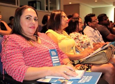 Núbia Saraiva Lima contou suas expectativas sobre o Seminário
