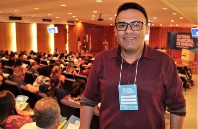 Alexandre Oliveira da Silva falou da importância da parceria entre estado e municípios