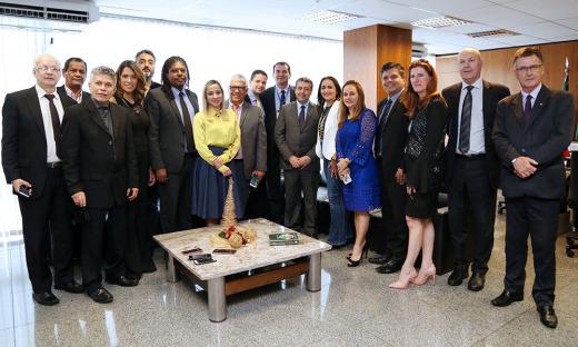 Secretários estiveram reunidos com o ministro Ronald Nogueira nesta quarta-feira