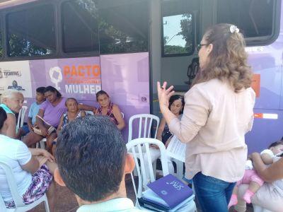 As ações começaram no Distrito de Buritirana, nesta quarta-feira, 06.