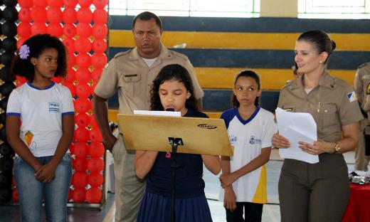Júlia Machado foi uma das alunas destaques ao fim do curso