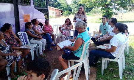 As ações começaram no Distrito de Buritirana, nesta quarta-feira, 6