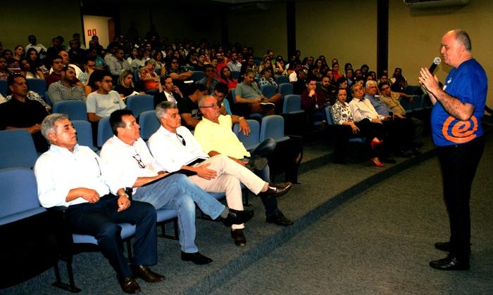 Para o Secretário David Torres, esse projeto será um grande legado para a eficiência no serviço público - Elcio Dias/Governo do Estado