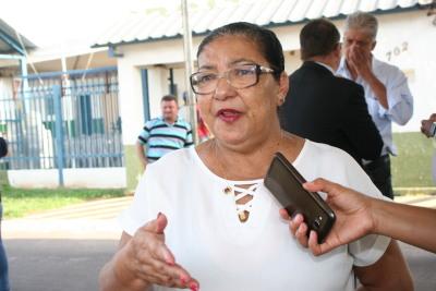 Dona Areolina é presidente da Assim