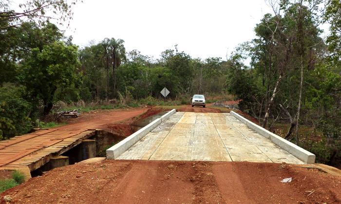 Ponte construída via programa Pdris Vicinais em Brejinho de Nazaré será inaugurada na sexta, 8 de dezembro