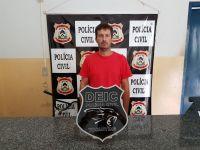 Suspeito de envolvimento com o tráfico de drogas é preso pela Polícia Civil em Dueré