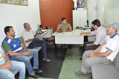 ATR agradece a PM o apoio dado as atividades de fiscalização no transporte público intermunicipal da região do bico do papagaio