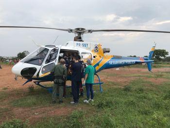 Ciopaer efetua transporte aeromédico de criança vítima de acidente de Paraíso para Palmas