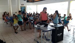 Alunos de assentamento recebem palestra sobre educação ambiental