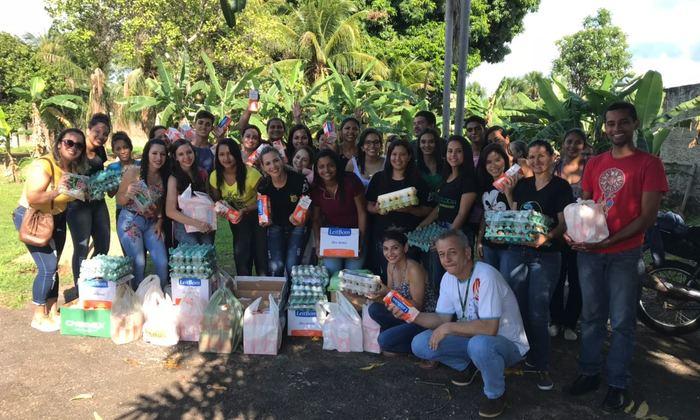Doações realizadas pelos acadêmicos de biologia do IESC - Instituto Educacional Santa Catarina, (Faculdade Jangada e Faculdade Guaraí)