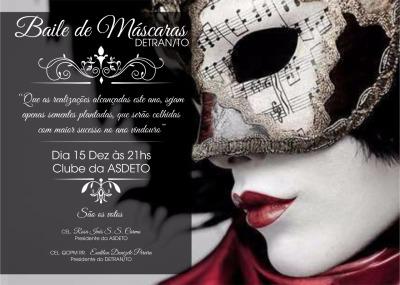 Baile de Máscaras Detran/TO