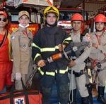 Equipe do Corpo de Bombeiros Militar do Tocantins