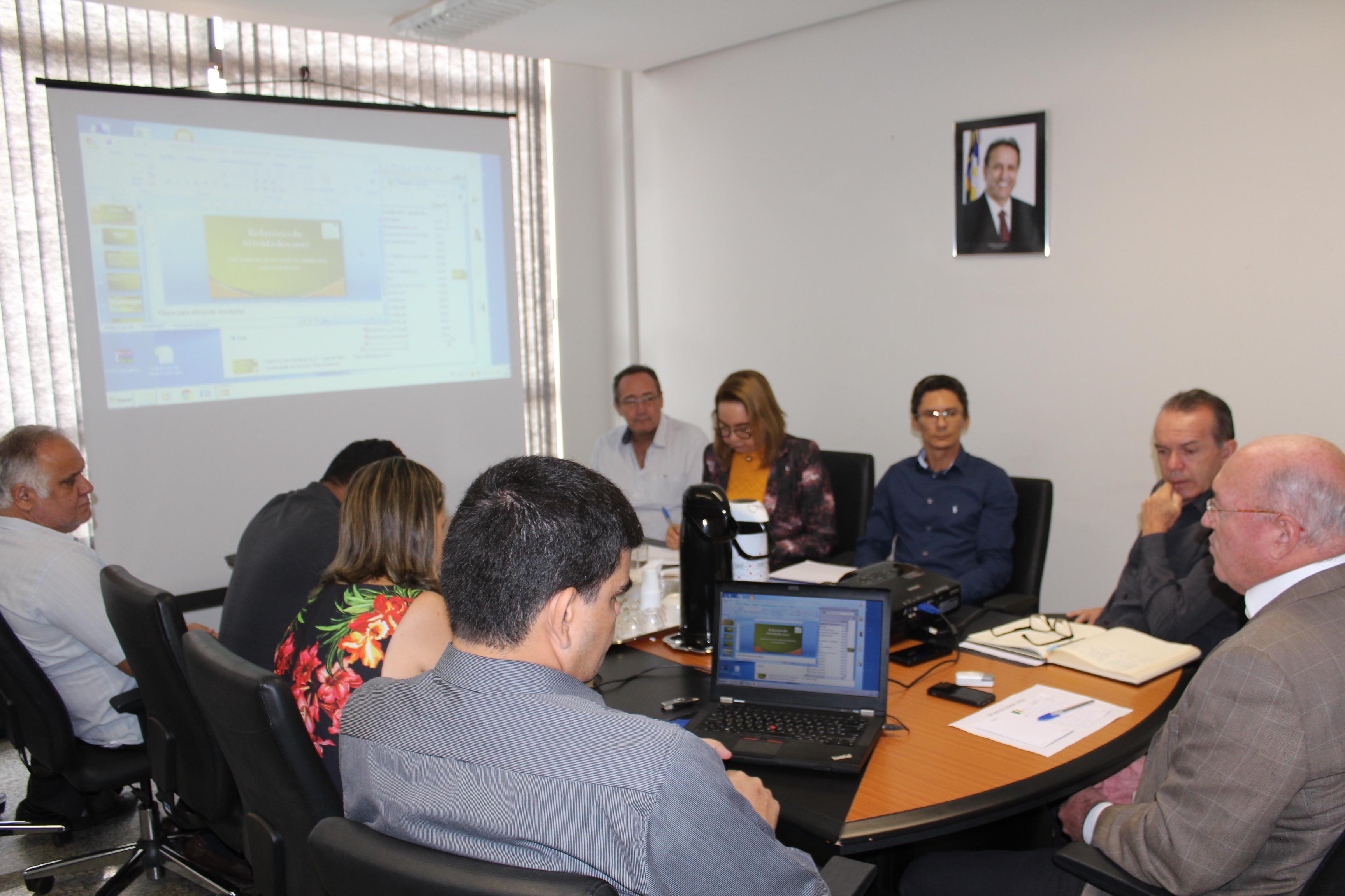 Presidente do Naturatins reúne diretores para apresentação do balanço do ano e planos para 2018_Foto Ney Carneiro-Governo do Tocantins (1).JPG