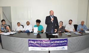 O secretário Marcos Musafir reiterou que o Governo do Estado apoia e reconhece o papel importante dos conselhos na construção de políticas públicas de saúde à população