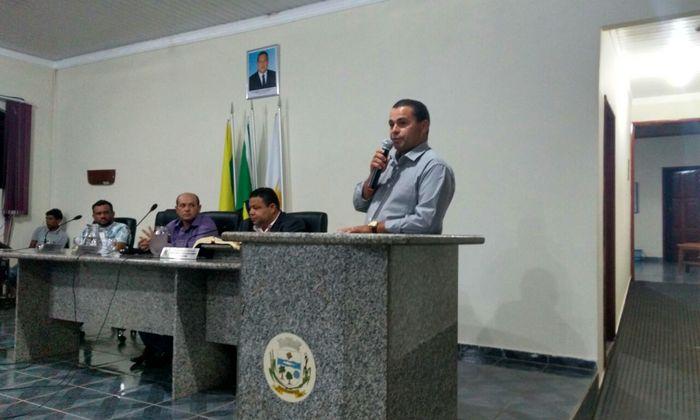 Natal Cesar Alves de Castro, superintendente de Gestão Ambiental do Naturatins, participou da abertura do evento