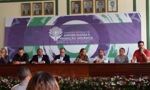 O seminário foi importante para colher informações da agroecologia, da produção orgânica e extrativismo no âmbito regional